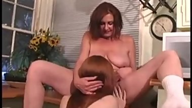 Anastasia makes love with young red head