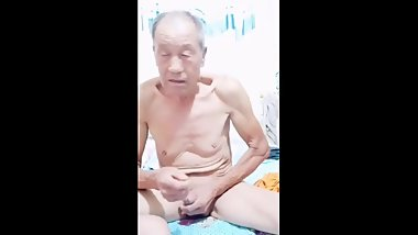 Anal sex with an old man