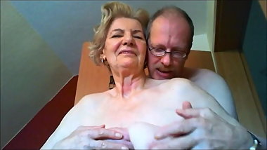 Beautiful Granny – Anna has saggy Tits