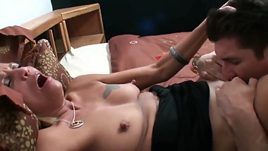 MTHRFKR, Mature Mom with Big Nipples Smokes and Fucks Son
